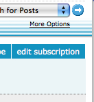 Edit subscription